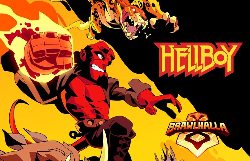 Brawlhalla' Adds Hellboy, Nimue, Gruagach, and Ben Daimio in