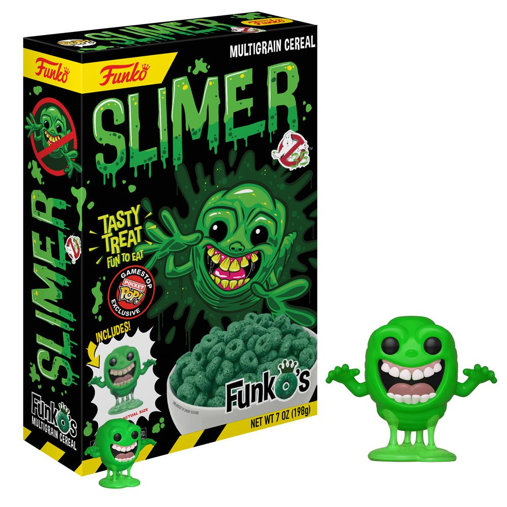 Funko's New 'Ghostbusters' Cereal Brings Slimer To The