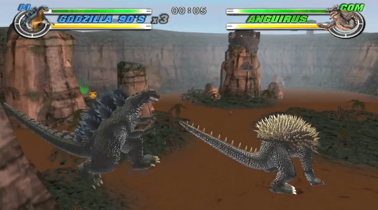 best godzilla games godzilla destroy all monsters melee