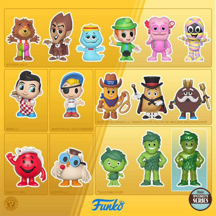 """Funko's Upcoming Line Of """"Ad Icons"""" Mystery Minis Toys"""