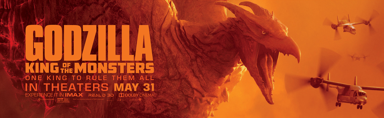 Series of Stunning 'Godzilla: King of the Monsters' Banners