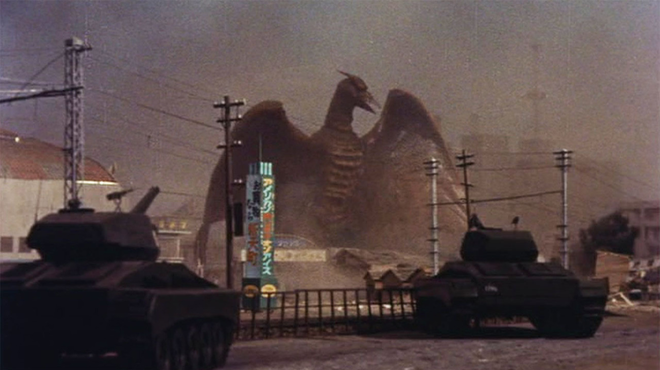 9eae591baa3 Rundown: While the original 1954 Godzilla was the first film directed by  the great Ishiro Honda, Rodan was his third, cementing his technical skill  with ...