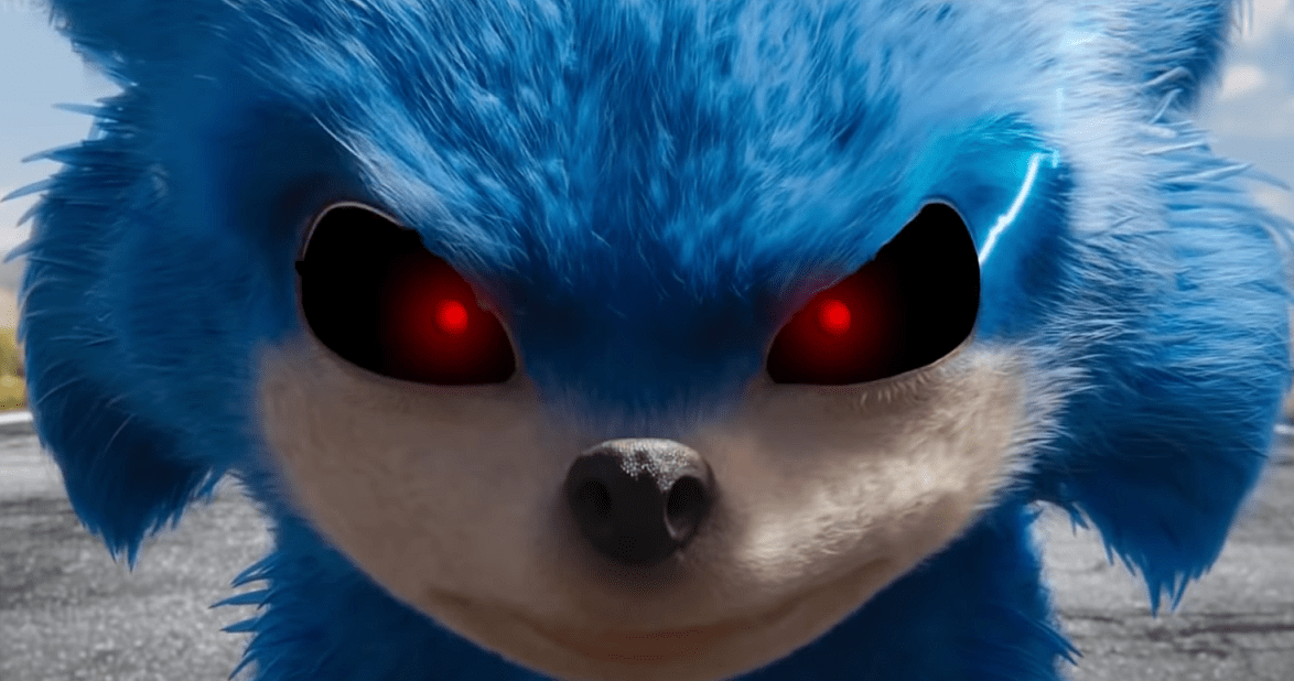 Video It Took Long Enough But Someone Turned Sonic Into A Horror Movie Trailer Bloody Disgusting