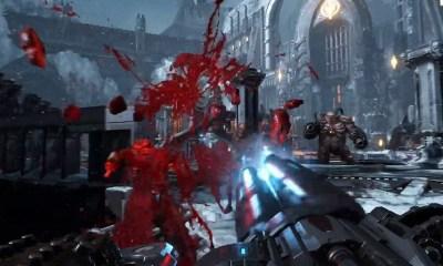 Brutal DOOM' v21 Goes Gold, New Gore-Soaked Trailer to