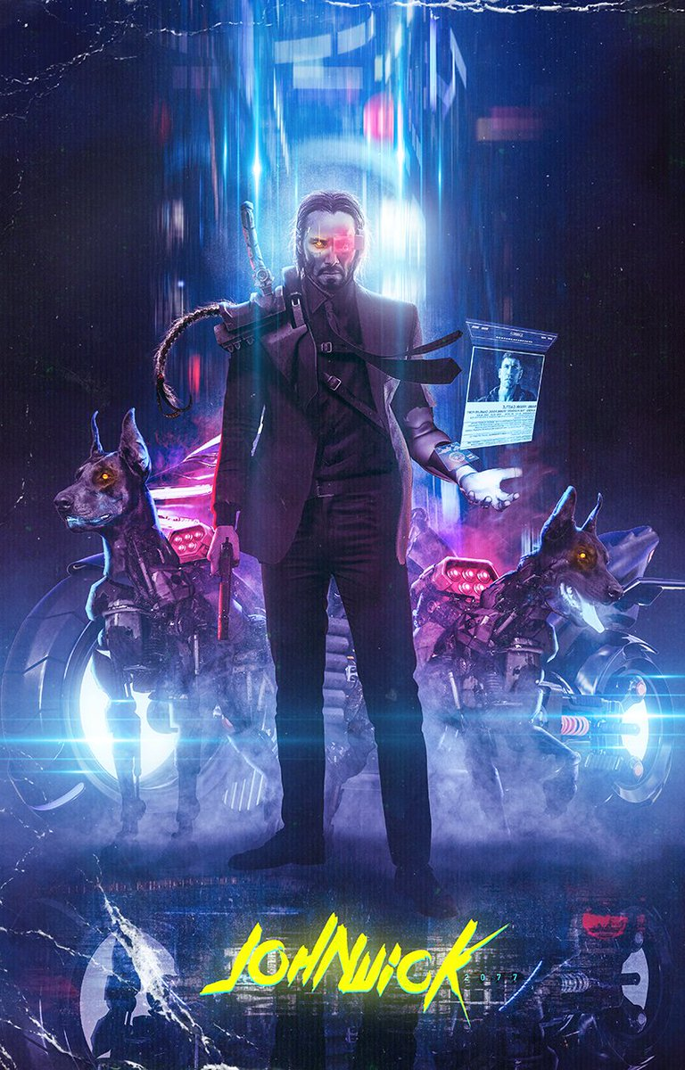 Awesome Art from BossLogic Imagines the 'John Wick