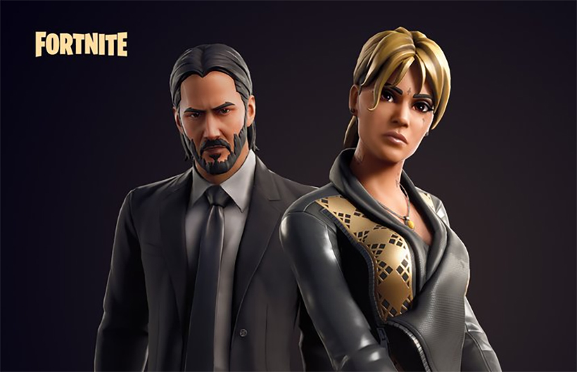 Halle Berry S Sofia Joins Reeves John Wick In Fortnite Bloody Disgusting