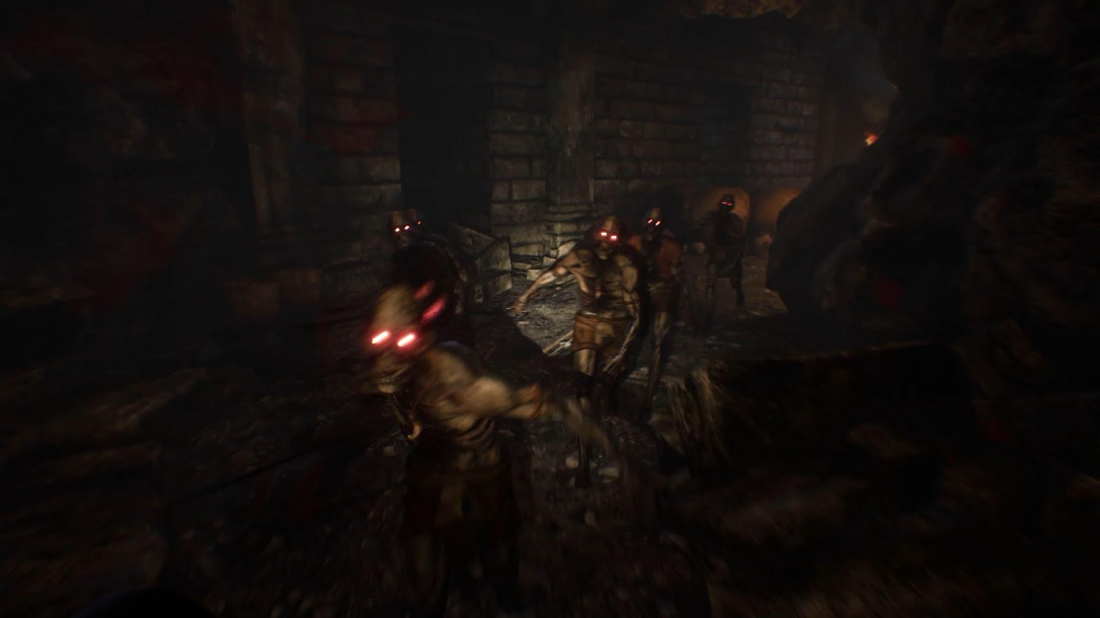 New Gameplay Trailer For Home Sweet Home Episode 2 Shows Off The Combat Bloody Disgusting