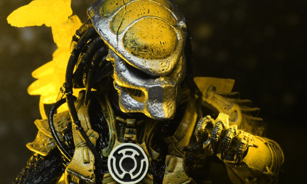 Neca Previews Quot Sinestro Corps Predator Quot Action Figure From