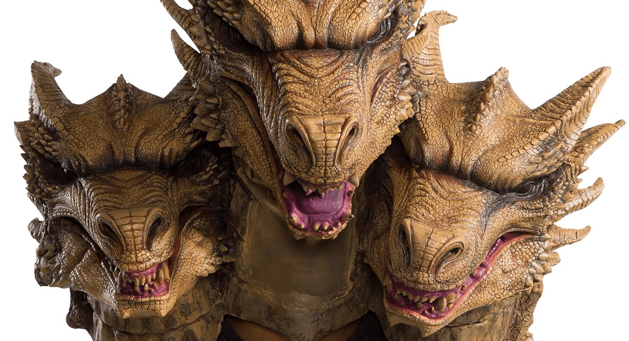 This Year's Halloween Collection from Rubie's Includes an Epic Three-Headed King Ghidorah Mask! - Bloody Disgusting