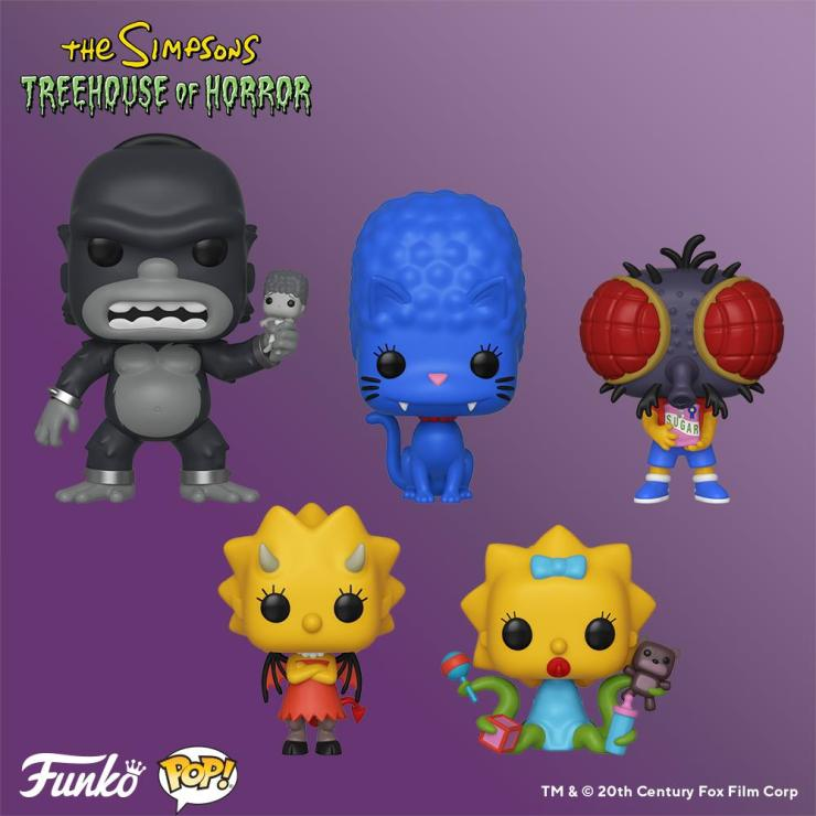 funko u0026 39 s next wave of  u0026quot simpsons u0026quot  pop  vinyl toys is based on the  u0026quot treehouse of horror u0026quot  episodes