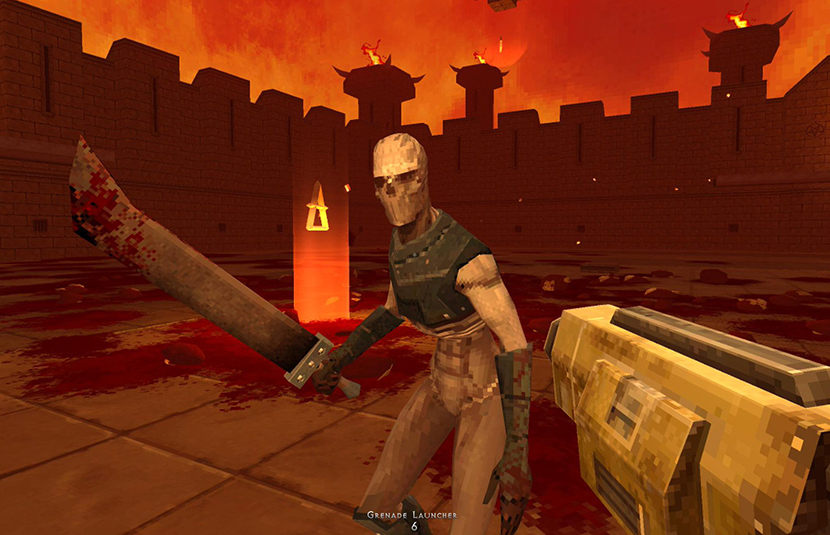 Enter Hell With Retro-Inspired Arena Shooter 'Demon Pit' - Bloody Disgusting
