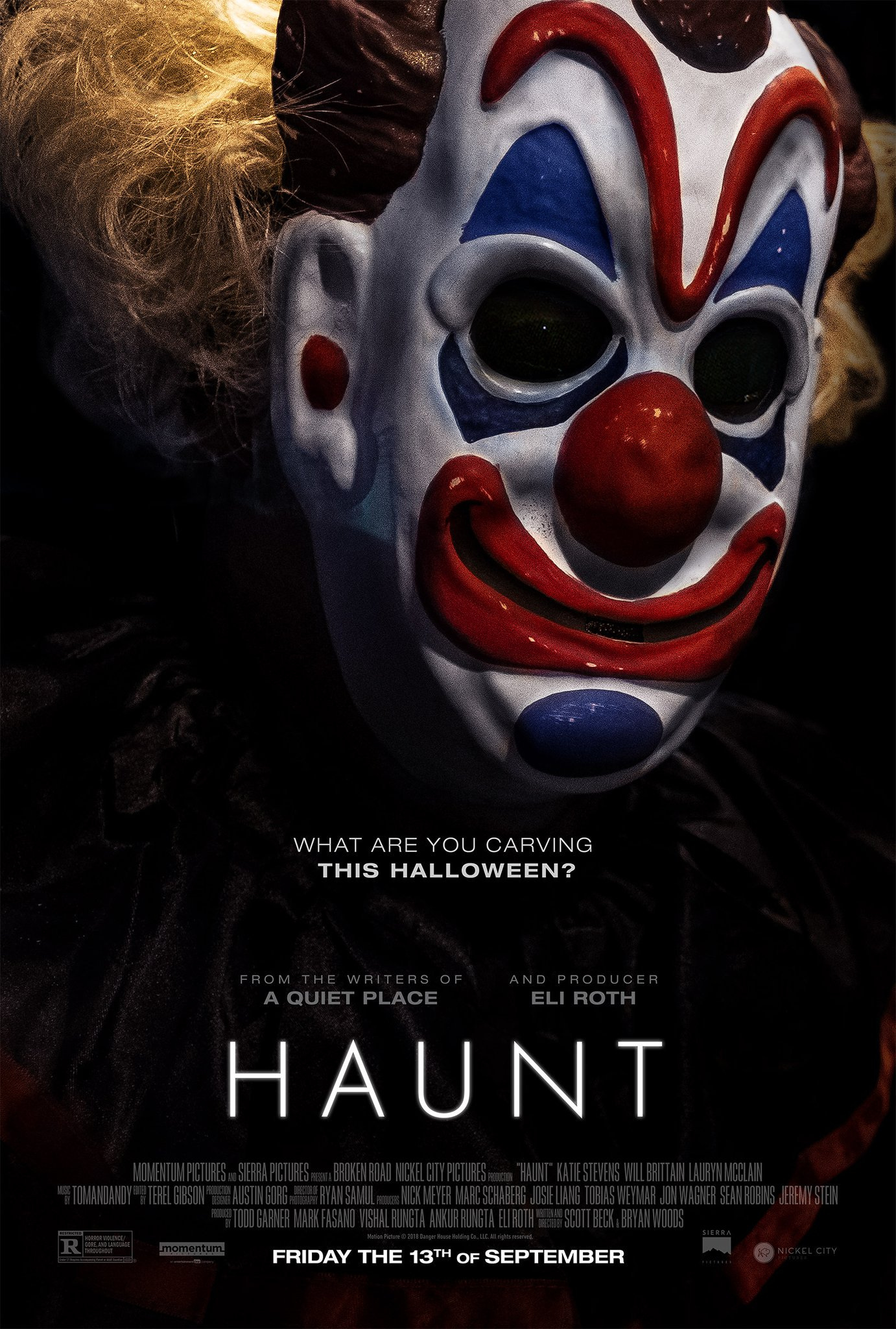 Image result for haunt poster