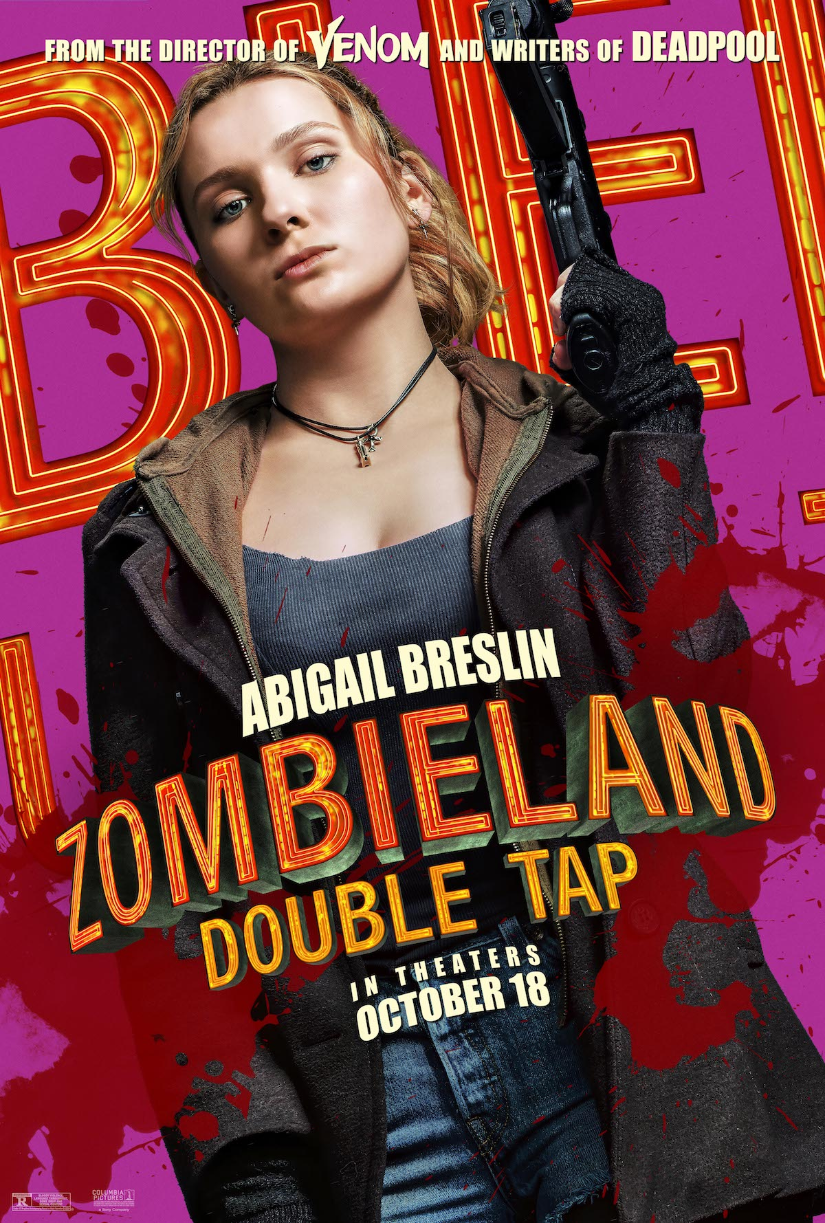 Zombieland 2 Double Tap Poster Character Movie 2 Silk Canvas Poster Print 32x48/'