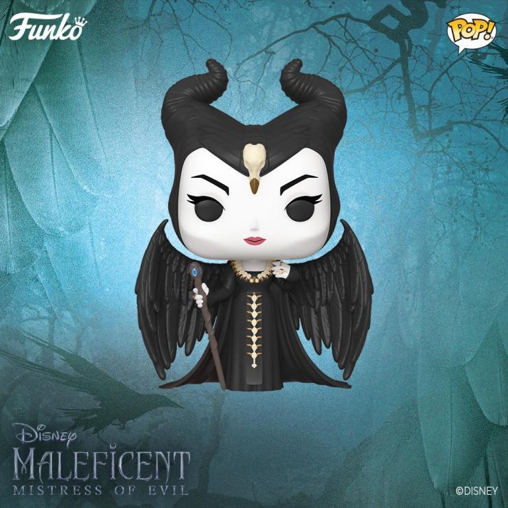Maleficent Mistress Of Evil Pop From Funko Brings