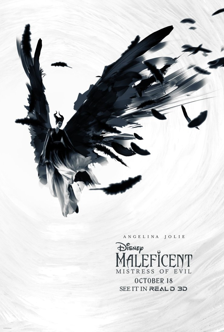 Two Beautiful New Maleficent Mistress Of Evil Posters