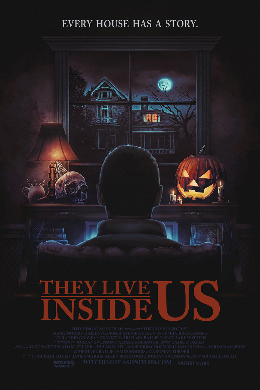Exclusive] 'They Live Inside Us' Poster Spends Halloween in a Haunted House  - Bloody Disgusting