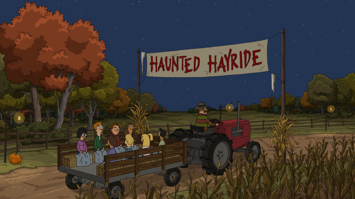 "Halloween-Themed Episode of ""Bob's Burgers"" Takes a Haunted Hayride [Photos] - Bloody Disgusting"