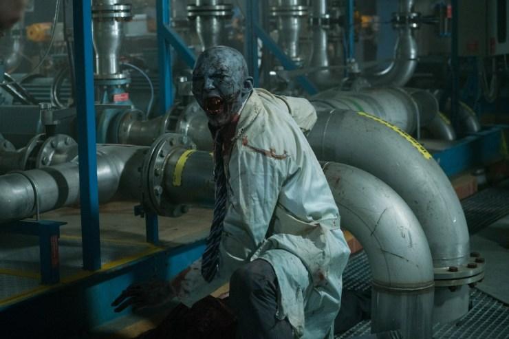 Review Satisfying B Movie Doom Annihilation Makes 2005 S Doom
