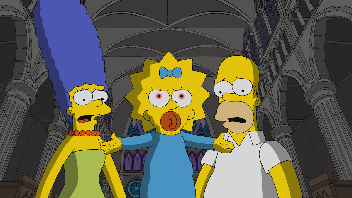 """""""The Simpsons"""": Watch the 'Omen'-Inspired Opening Scene from """"Treehouse of Horror XXX"""" [Exclusive] - Bloody Disgusting"""