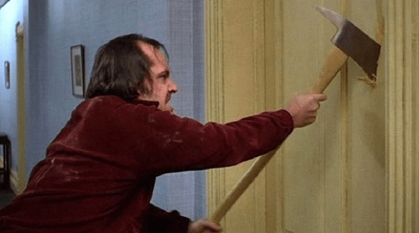 The Axe Swung By Jack Nicholson in 'The Shining' Just Sold at Auction for Over $200,000 - Bloody Disgusting