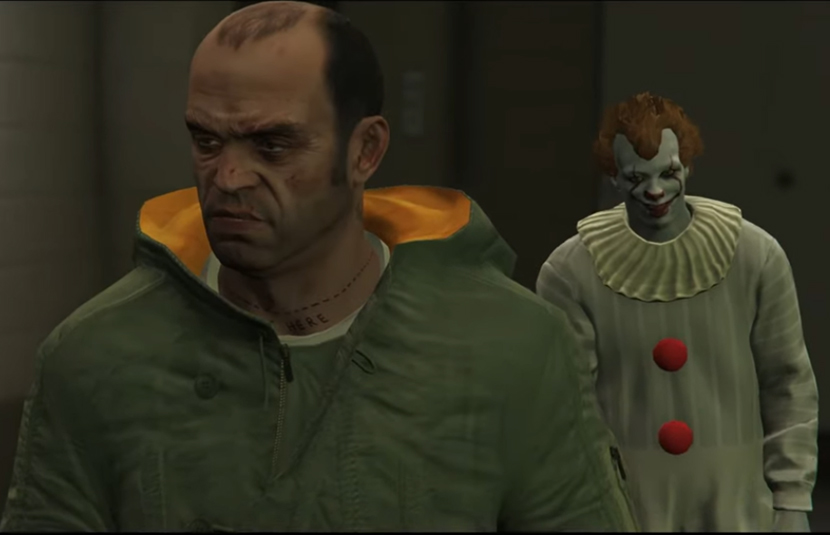 """Genre Icons Come Together Again in Another """"Horrorland"""" Episode For 'GTA 5' - Bloody Disgusting"""