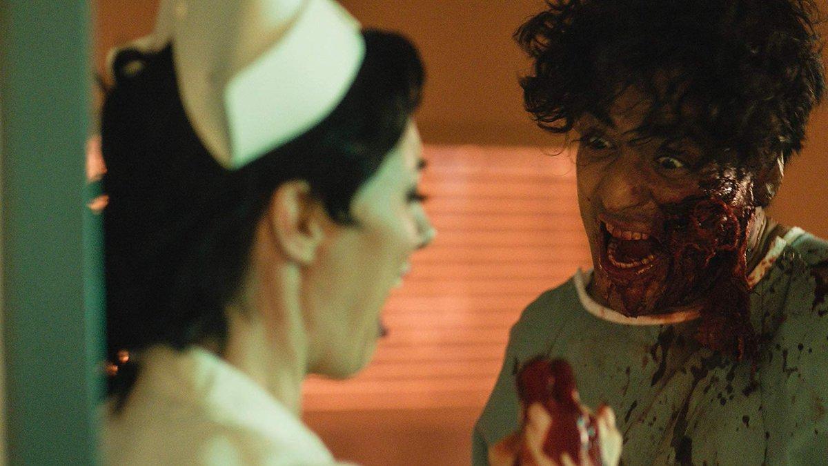 'Rabid' Patient Snacks on Several Fingers [Video] - Bloody Disgusting