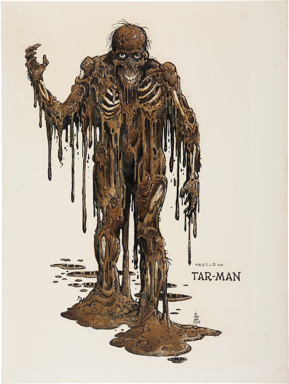 RETURN OF THE LIVING DEAD T shirt TAR MAN HORROR ZOMBIE