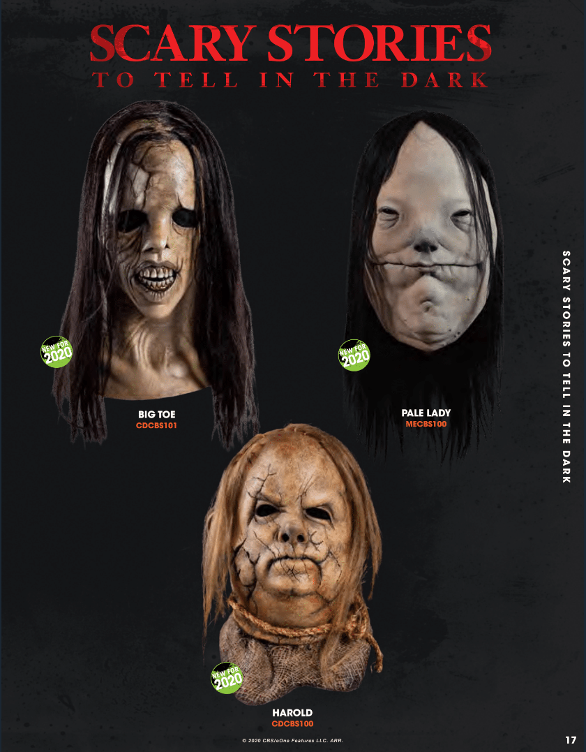 Halloween 2020 Story Scary Stories to Tell in the Dark' Gets Its Own Halloween Mask