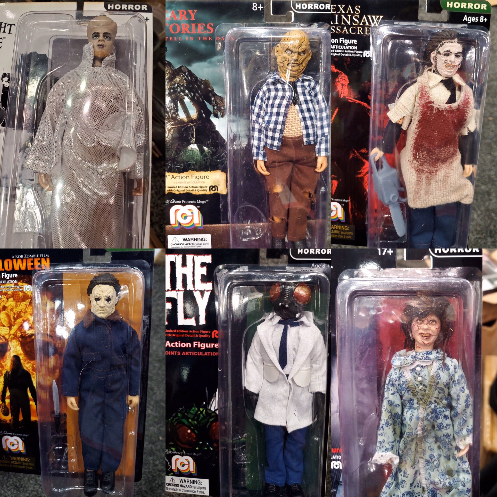 New Horror Toys From The Revived Mego Brand Include Harold