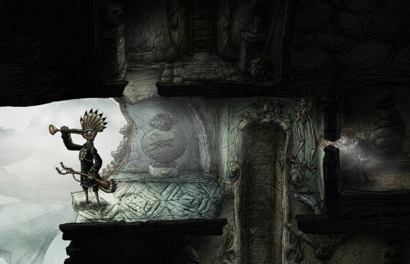 Surreal Puzzle Adventure Game Creaks Launches Later This Month