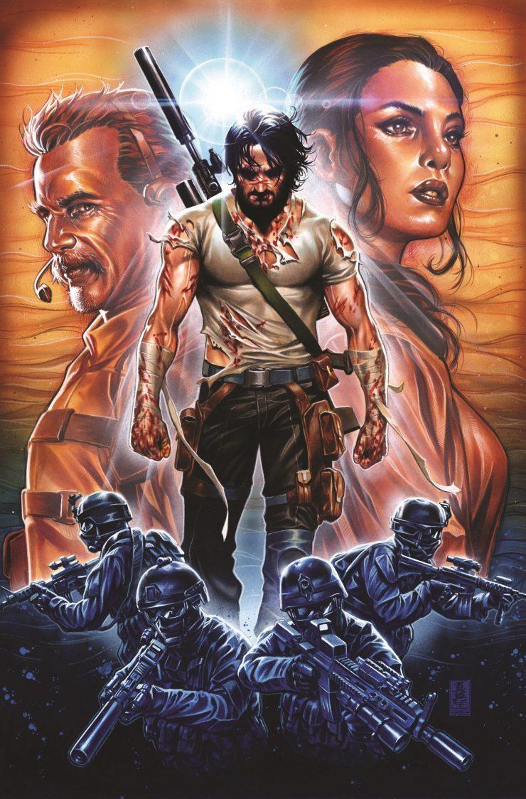 ¡Confirmado! Keanu Reeves anuncia película basada en su cómic para Netflix
