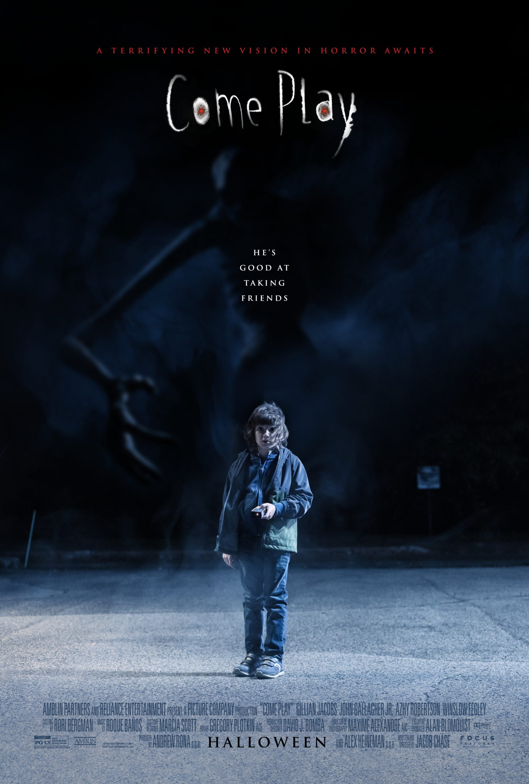 A Little Boy Befriends A Terrifying Monster In Come Play This Halloween Trailer Bloody Disgusting