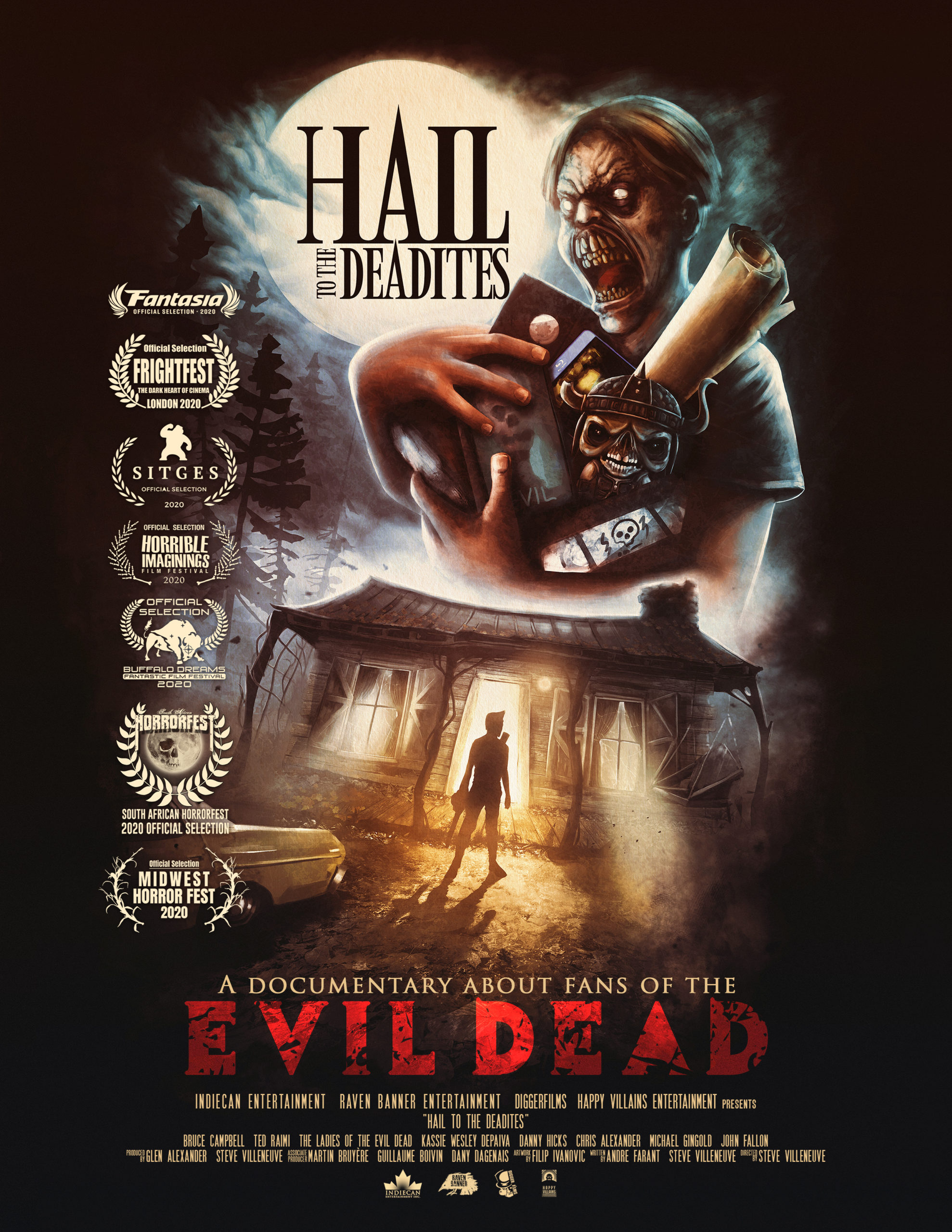 Documentary 'Hail to the Deadites' Celebrates 'Evil Dead' Fandom With New Trailer and Poster Art
