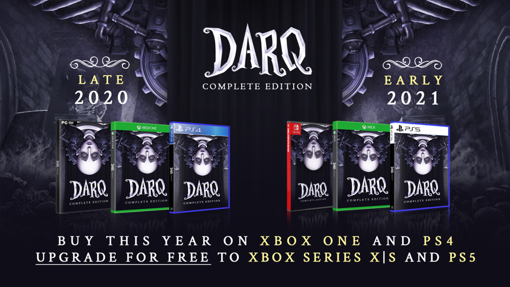 'DARQ: Complete Edition' Heading to PS4 And Xbox One Next Month, Next-Gen And Switch in 2021