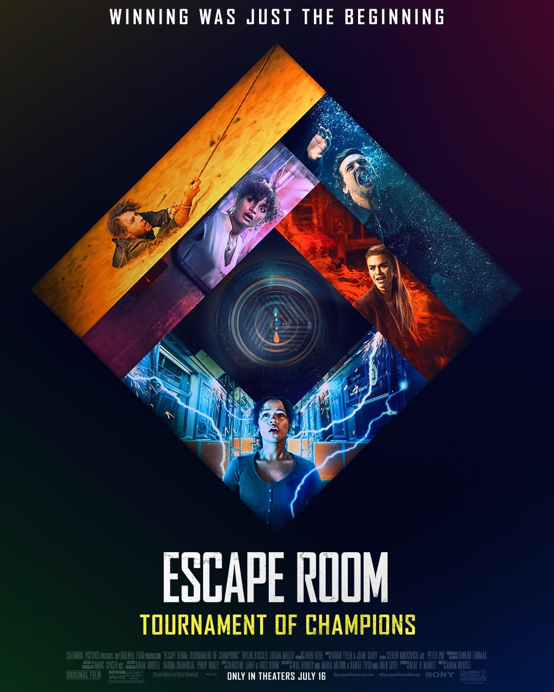 Escape Room: Tournament of Champions': Official Poster Teases the New Rooms  We'll Be Entering This Summer - Bloody Disgusting