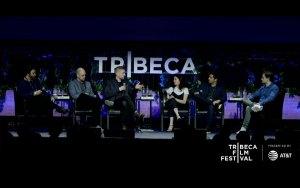 Gabriel Younes, Ben Franklin, Anthony Melton, Kate Krantz, Eli Roth and Jack Davis (L2R) © Tribeca