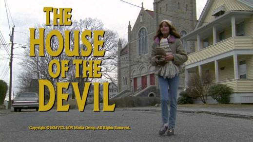 The House of the Devil - Title Card