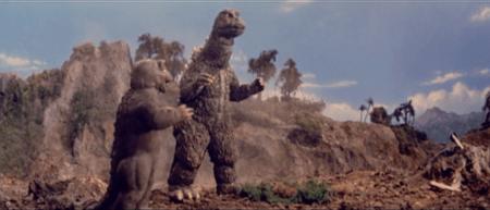 Godzilla and Minilla