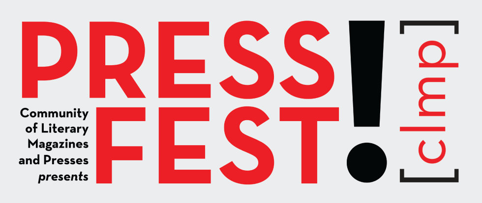 Press Fest logo in red and black text with large exclamation mark.