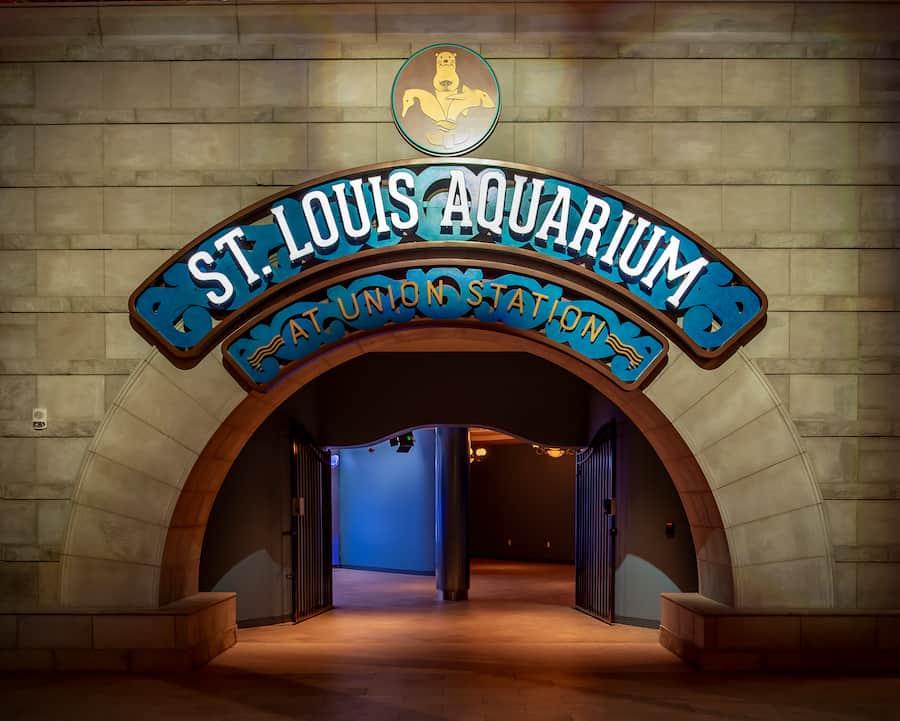 St Louis Aquarium Entrance