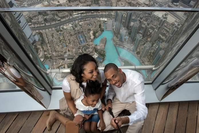 family Burj Khalifa observation deck Emaar Entertainment