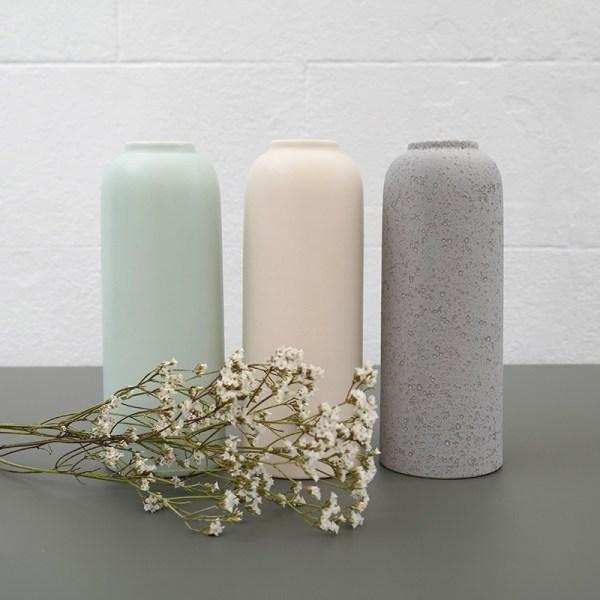 Vase de décoration Bloom en 3 coloris.