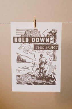 Print- Fort