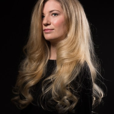 Stylist Samantha - The look: Blonde balayage and bouncy blowdry
