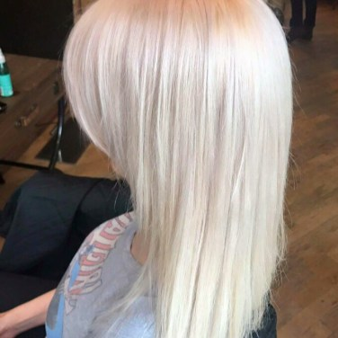 The look: Icy Blonde