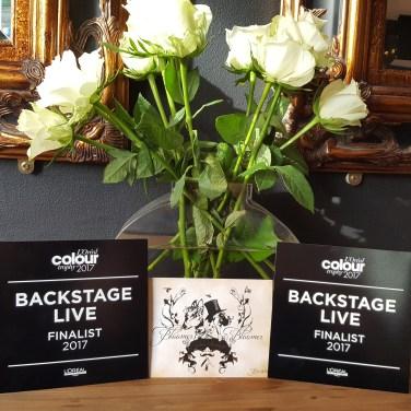Back Stage Live 2017 L'Oreal regional finalist