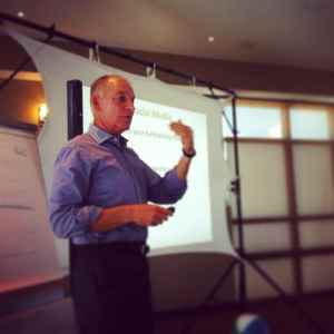 Jay Speaking at Donor Retention Bootcamp
