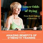 Strength Training lower odds