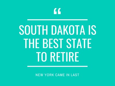 South Dakota is the Best State to Retire