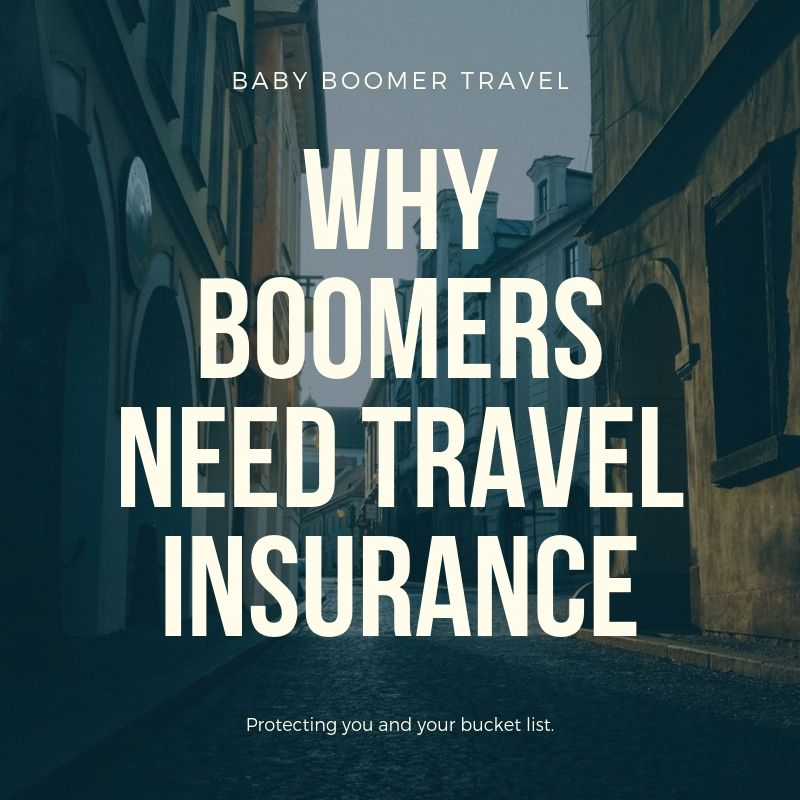 Why boomers need travel insurance